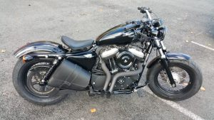 Sacoches Myleatherbikes Harley Sportster Forty Eight (8)